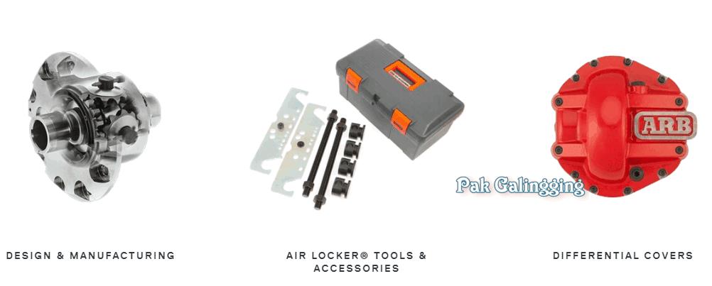 Air Locker dan Kompresor  ARB, Sang Peniup Udara Untuk Air Locker Di Mobil Off-Road