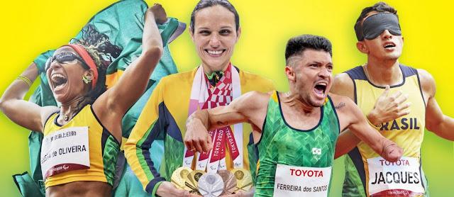 Vinte e um fatos que tornaram incríveis os Jogos Paralímpicos de Tóquio para o Brasil