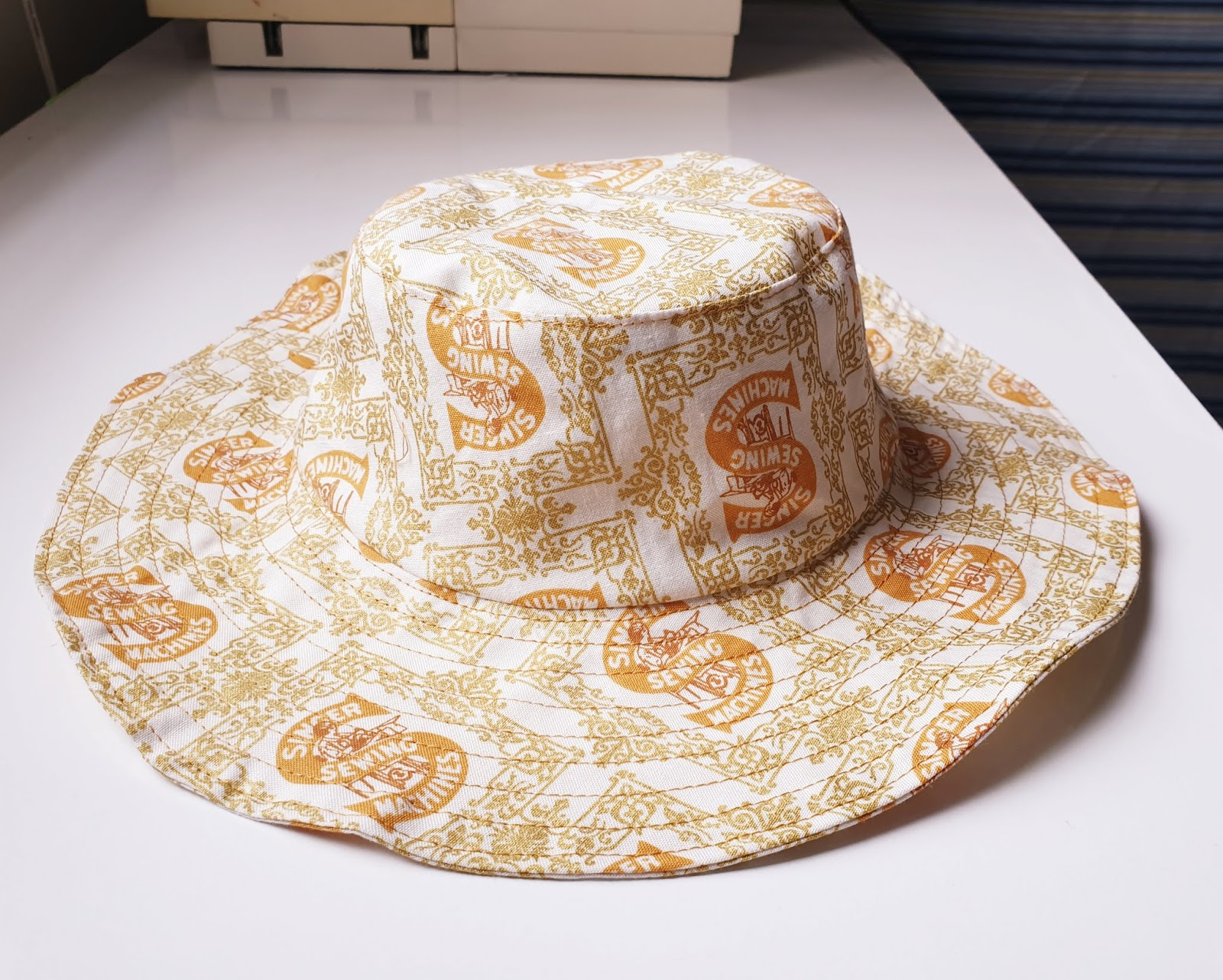 The Little Sewist Free Sewing Pattern Baby S Bucket Hat