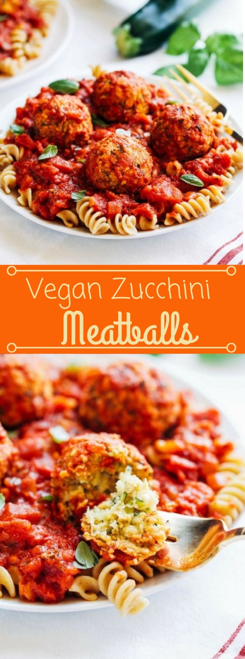 VEGAN ZUCCHINI 'MEATBALLS' #dinner #vegan #vegetarian #shrimp #food