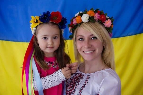 couronne de fleurs ukrainienne