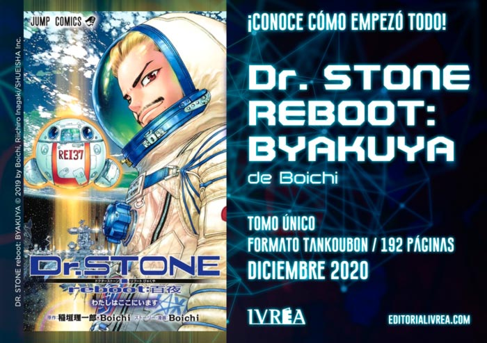 Dr. Stone Reboot: Byakuya manga - Boichi - Ivrea
