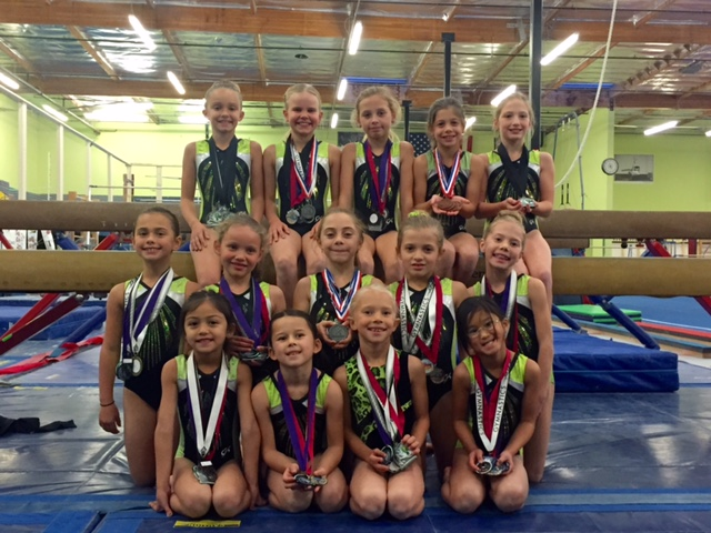 level 3 state gymnastics meet california