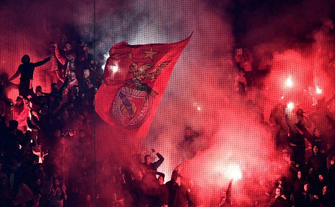 Benfica adeptos incansáveis
