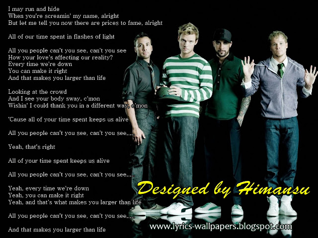 Lyrics Wallpapers: February 2013
