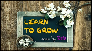 "Learn To Grow"" border ="