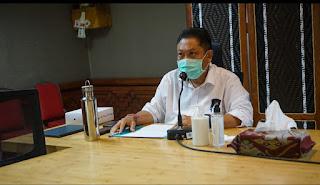 Rai Mantra Pimpin Rapat Evaluasi Penanganan Covid-19 Kota Denpasar