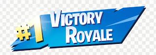1 victory royale png transparent image