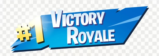 #1 Victory Royale PNG Transparent Image Logo for Free