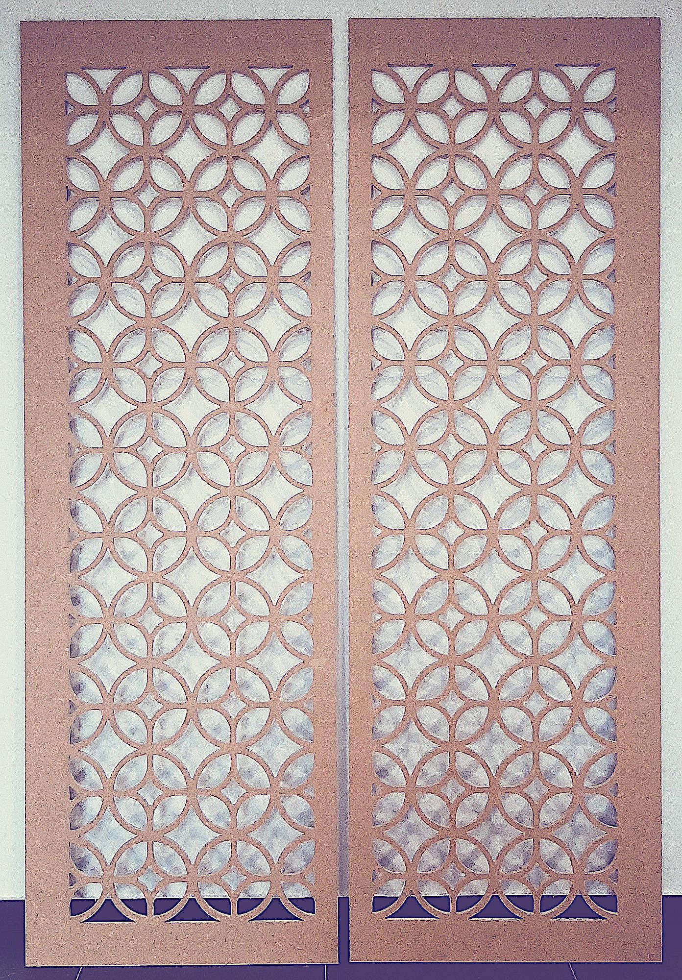 frezowanie cnc drzwi panele dokoracyjne na ścianę
