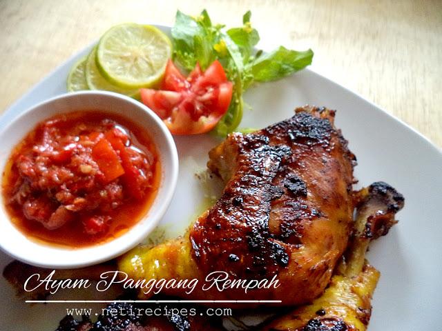 Resep Ayam Panggang Rempah