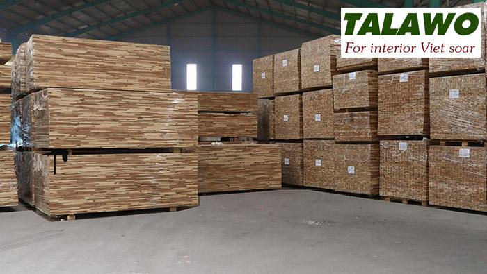 Lô gỗ tràm ghép 50m3 mới cập nhật kho
