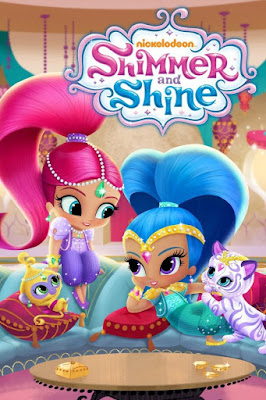 Shimmer And Shine 2016 DVD R1 NTSC Latino