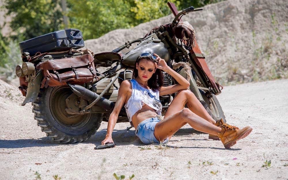 Experimental Harley Girl
