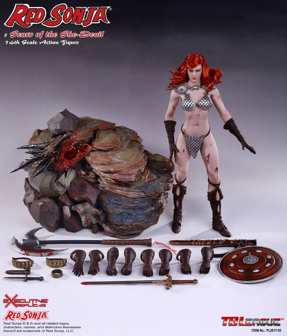 PHICEN - Red Sonja: Scars of the She-Devil  20