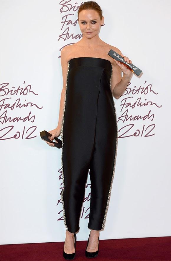 Les British Fashion Awards 2012 couronnent Stella McCartney