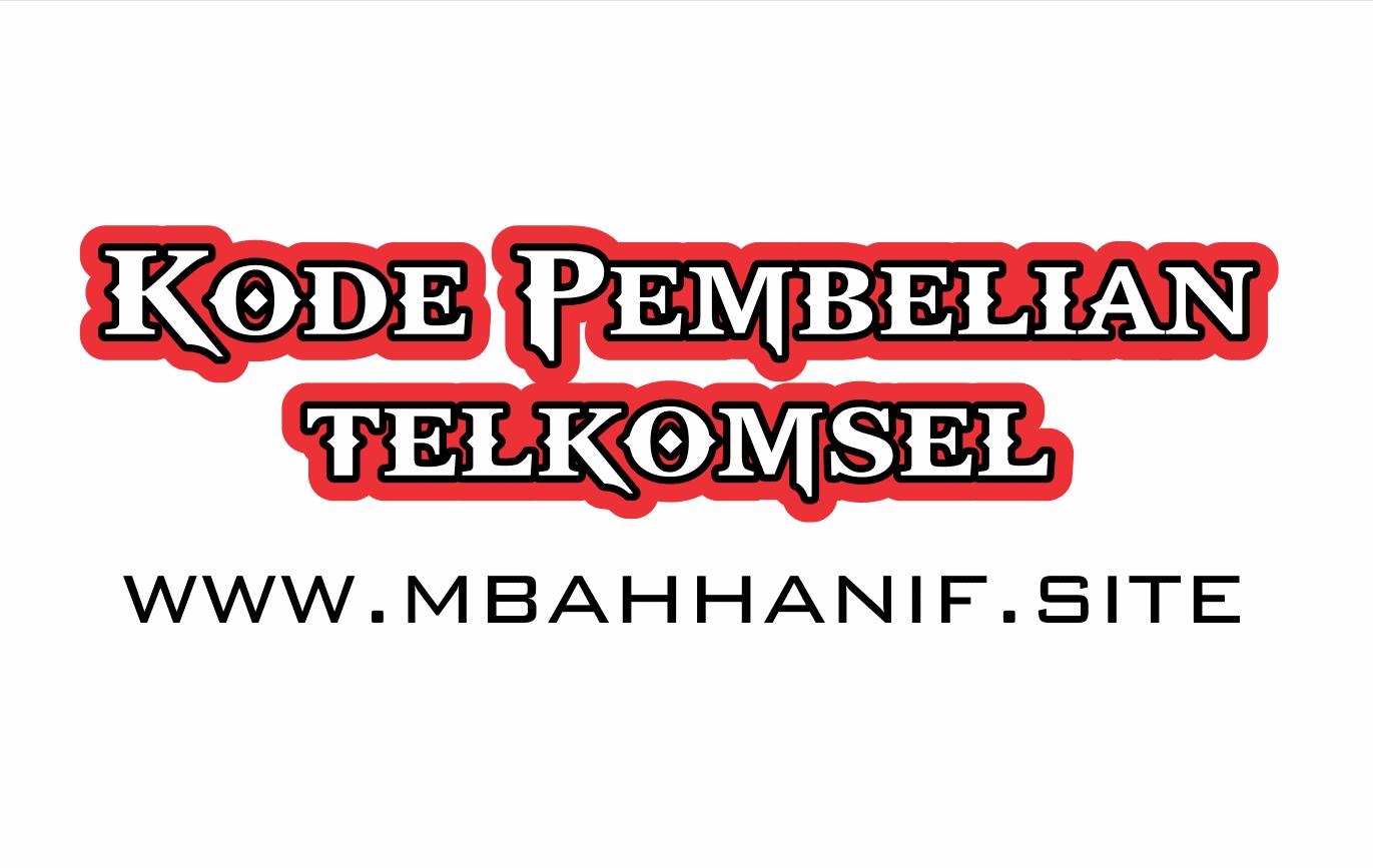 Kode Pembelian Telkomsel