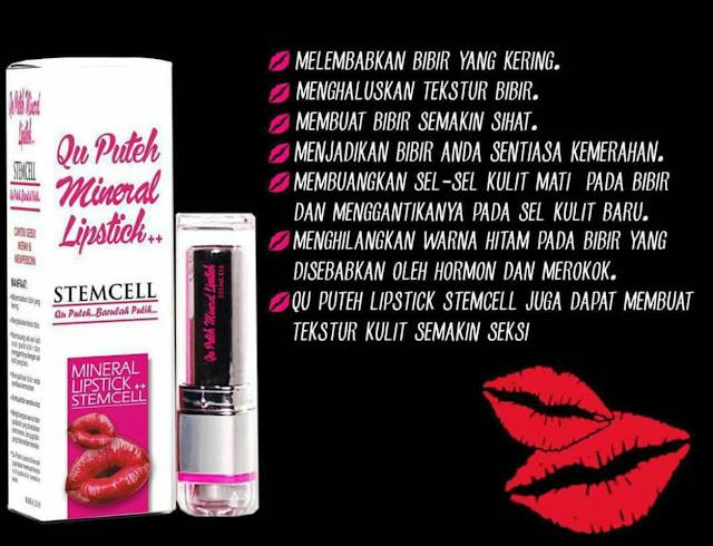 Qu Puteh Mineral Lipstick