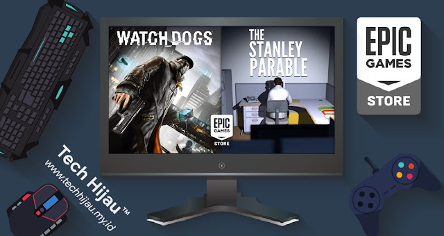 Thumbnail Watch Dogs dan The Stanley Parable - Tech Hijau™