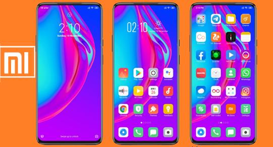 Xiaomi MIUI Theme: Tema Oppo Reno Mtz Keren Simpel dan Elegan Untuk MIUI All Series