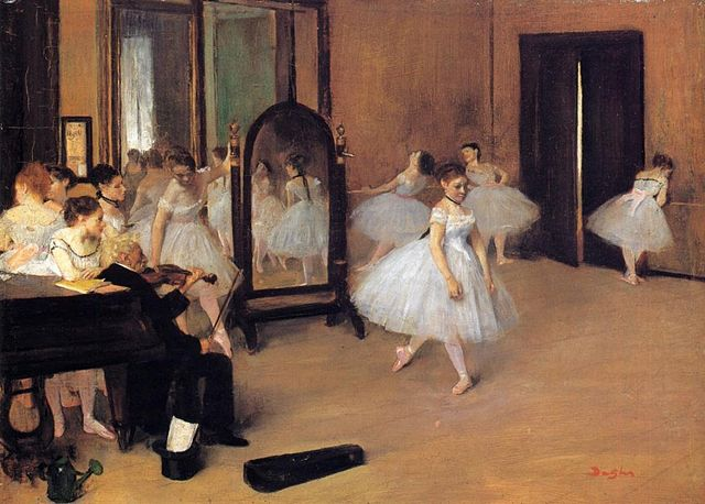 Degas-the-dance-class