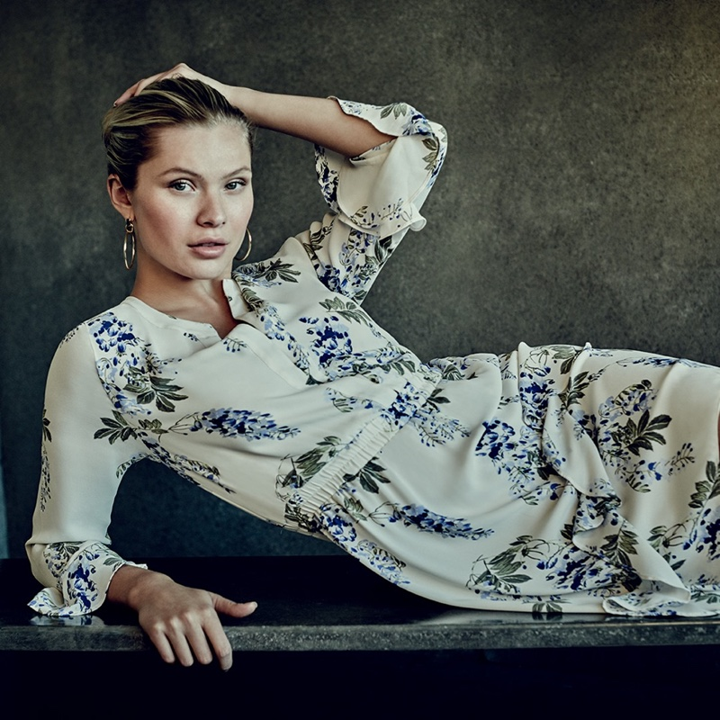 Josie Canseco stars in Vince Camuto spring-summer 2020 campaign.