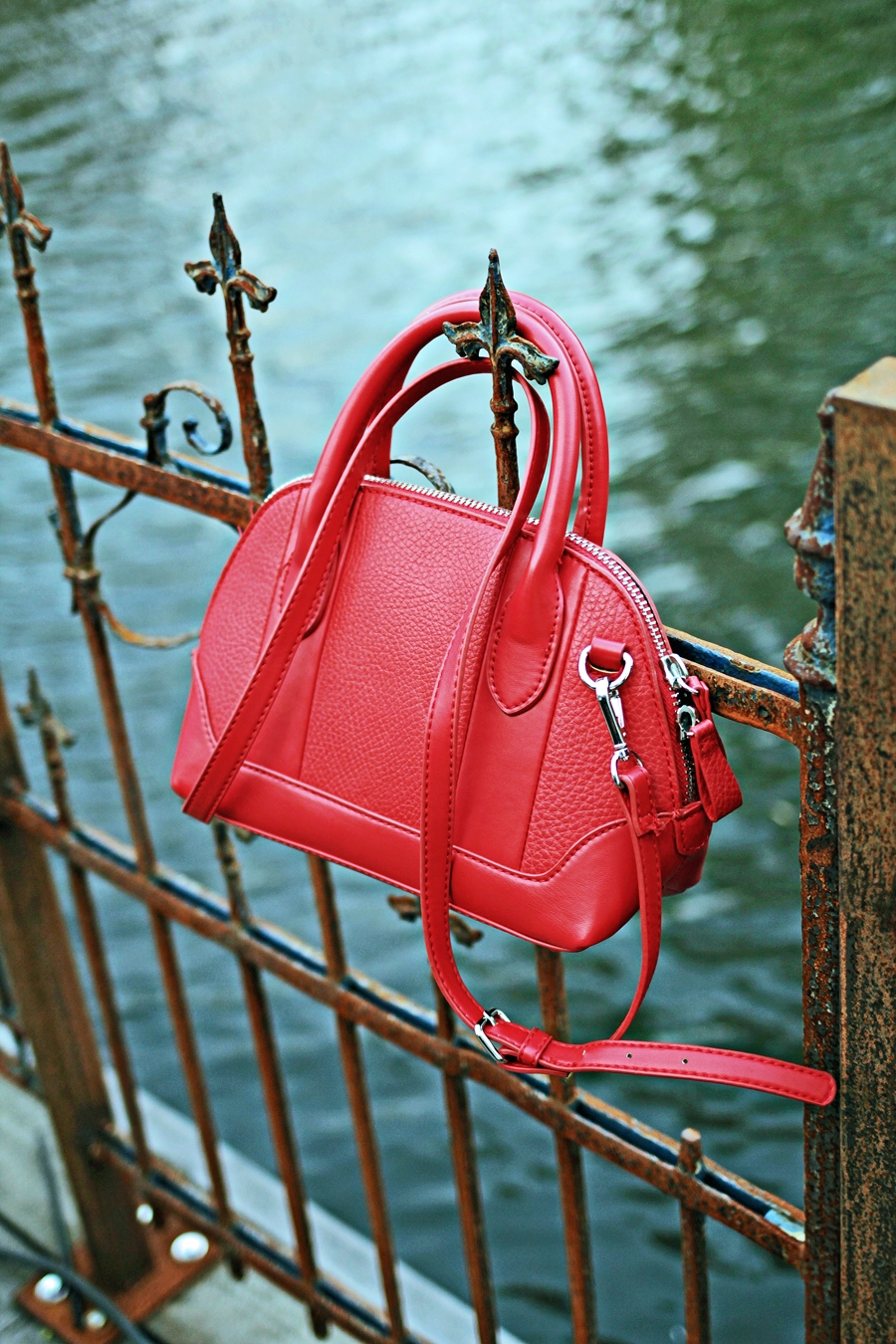 red bag mango accessoires