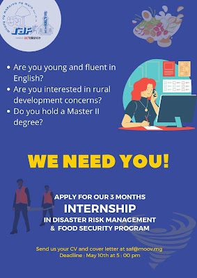 Intern for disaster risk management (drm) and food security program