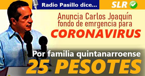 carlos-joaquin-25-pesos-por*familia-coronavirus