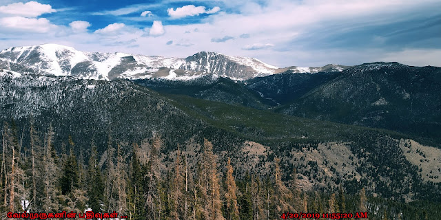 Rocky Mountain National Park Peaks