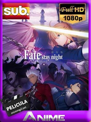 Fate/stay night: Heaven's Feel – I. Presage Flower subtitulada HD [1080P][GoogleDrive] DizonHD