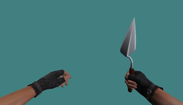 Spade Knife Model