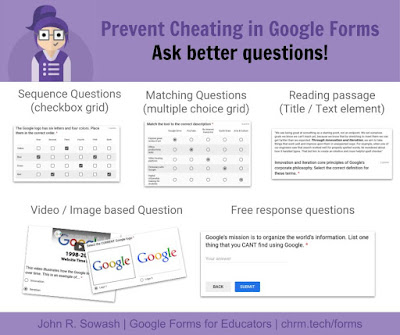 Prevent cheating in Google Forms: ask better questions