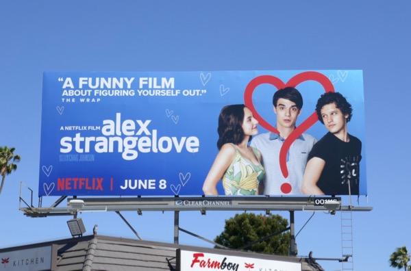 Alex Strangelove movie billboard