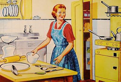 balada awal menjadi ibu rumah tangga