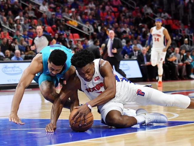 Stanley Johnson vs Hornets | PistonsFR