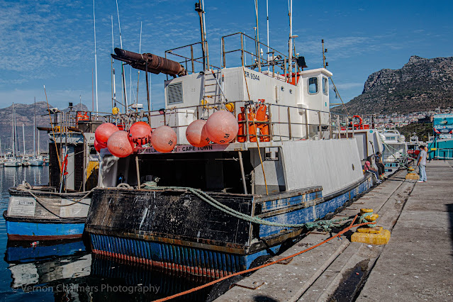 Fishing Boat in Hout Bay Harbour, Cape Town