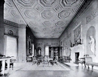 The Long Gallery, Croome Court  from The Architecture of Robert and James Adam by AT Bolton (1922)