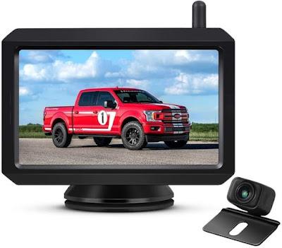 AUTO-VOX W7 5 Inch Monitor Cars WiFi Backup Camera