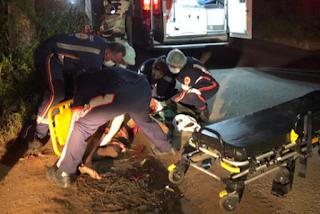 Homem fica ferido após ser atropelado em rodovia da Paraíba; motorista fugiu sem prestar socorro