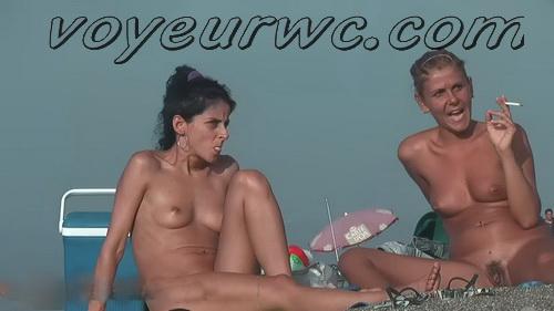 JT Nude Beach 062-087 (Tempting women sunbathing in a nude beach video)