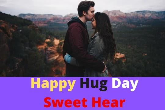 happy hug day sweet heart
