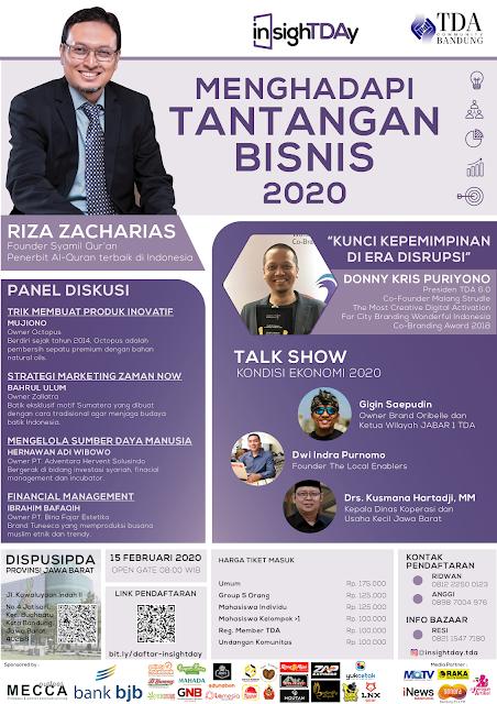 cara menghadapi tantangan bisnis 2020