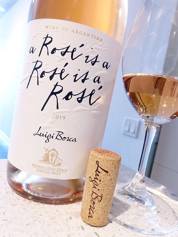 Luigi Bosca A Rosé Is A Rosé Is A Rosé 2019 (88 pts)