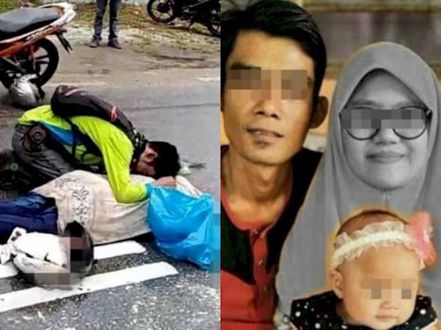 Innalillahi! Lihat Jenazah yang Meninggal di Jalan Karena Kecelakaan, Ternyata Istrinya Sendiri