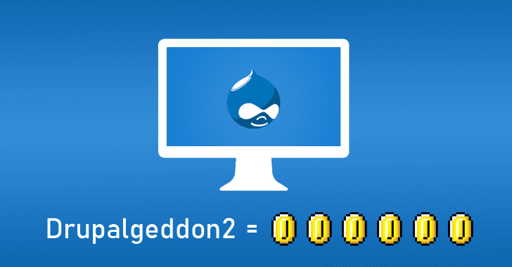 Hackers Exploiting Drupal Vulnerability to Inject