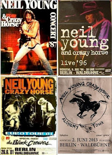 Neil Young Tourposter Berlin