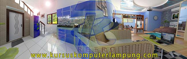 Kitchen Set (Kiri) | Interior Design (Kanan)