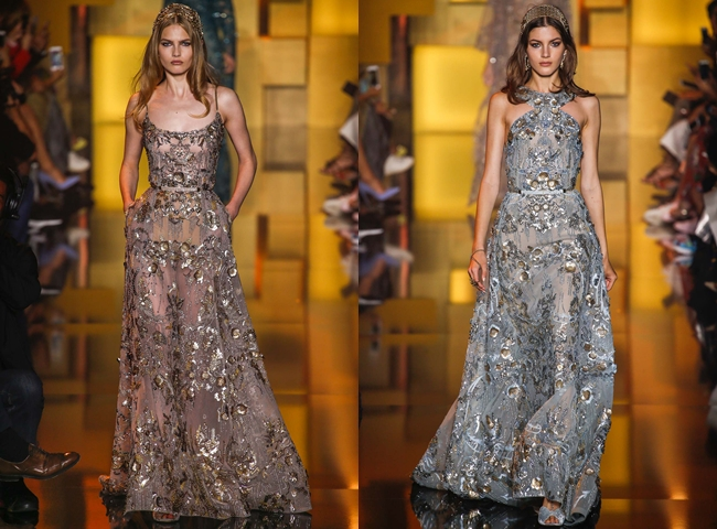 ELIE SAAB Fall 2015 Couture dresses