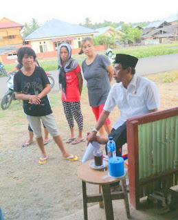 Bupati Landjar silaturahmi dengan warga tutuyan, Boltim
